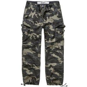 Brandit Hudson Ripstop Trousers Dark Camo