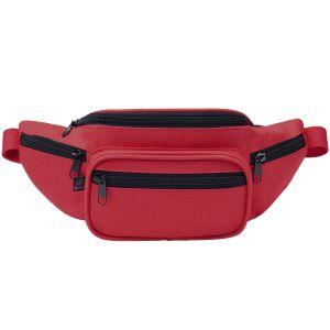 Brandit Waist Bag Red / Black