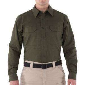 First Tactical Men's V2 Long Sleeve Tactical Shirt OD Green