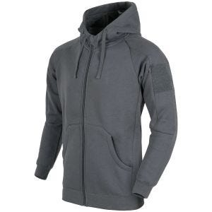 Helikon Urban Tactical Hoodie Lite Full Zip Grey