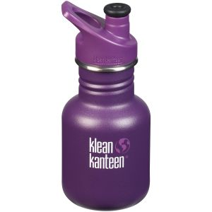 Klean Kanteen Kid Sport 355ml Bottle Sport Cap 3.0 Grape Jelly