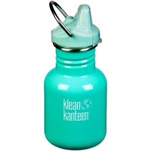 Klean Kanteen Kid Kanteen 355ml Bottle Sippy Cap Beach Bum