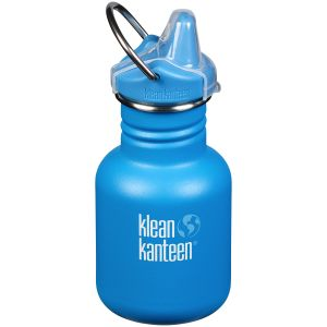 Klean Kanteen Kid Kanteen 355ml Bottle Sippy Cap Pool Party