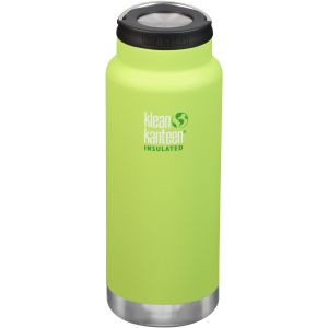 Klean Kanteen TKWide 946ml Insulated Bottle Loop Cap Juicy Pear