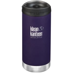 Klean Kanteen TKWide 355ml Insulated Bottle Cafe Cap 2.0 Kalamata