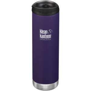 Klean Kanteen TKWide 591ml Insulated Bottle Cafe Cap 2.0 Kalamata