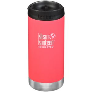 Klean Kanteen TKWide 355ml Insulated Bottle Cafe Cap 2.0 Melon Punch