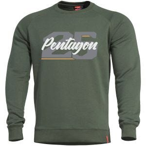 Pentagon Hawk Sweater Twenty Five Camo Green