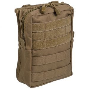 Mil-Tec MOLLE Belt Pouch Large Dark Coyote