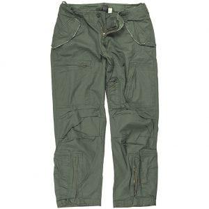 Mil-Tec Pilot Trousers Poplin Cotton Prewashed Olive