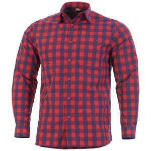 Pentagon QT Tactical Shirt Red Checks