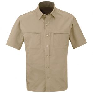 Propper Men's HLX Shirt Short Sleeve Khaki