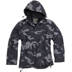 Surplus Windbreaker Jacket Black Camo