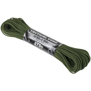 Atwood Rope 100ft 275 Tactical Cord Olive Drab