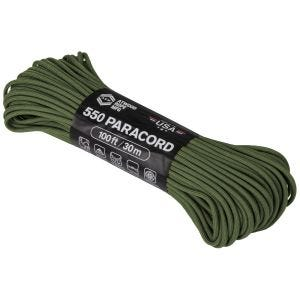 Atwood Rope 100ft 550 Paracord Olive Drab