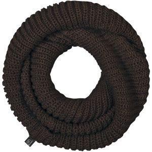 Brandit Scarf Loop Knitted Chocolate