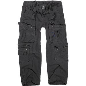 Brandit Pure Vintage Trousers Black