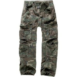 Brandit Pure Vintage Trousers Woodland
