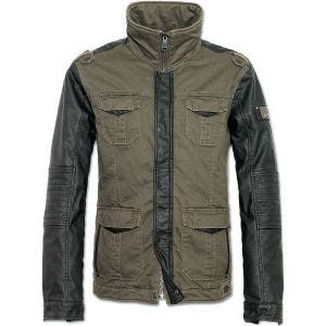 Brandit Ray Vintage Jacket Olive / Black
