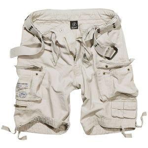 Brandit Savage Vintage Shorts Old White
