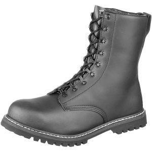 Brandit Combat Para Boots with Faux Fur Black