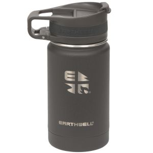 Earthwell Roaster Loop Vacuum Bottle 355ml Volcanic Black