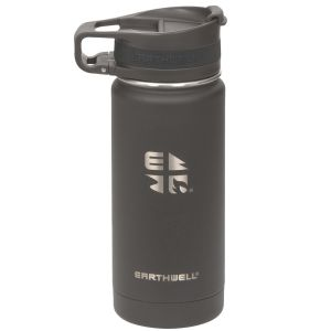 Earthwell Roaster Loop Vacuum Bottle 473ml Volcanic Black