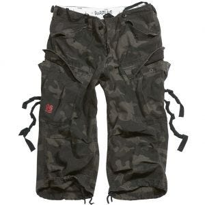 Surplus Engineer Vintage 3/4 Shorts Black Camo