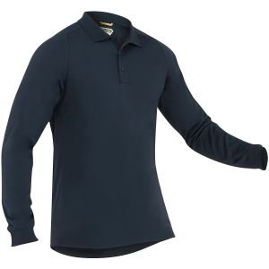 First Tactical Men's Performance Long Sleeve Polo Midnight Navy
