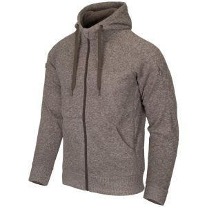 Helikon Covert Tactical Hoodie Full Zip Melange Light Tan