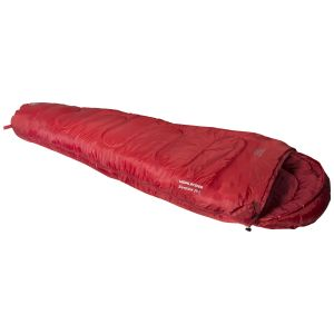 Highlander Sleepline 250 Mummy Sleeping Bag Red