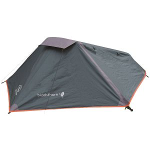 Highlander Blackthorn 1 Tent Hunter Green/Orange Trim