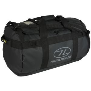 Highlander Lomond Tarpaulin 65L Duffle Bag Black