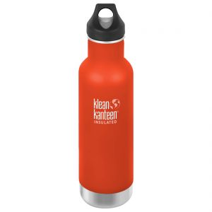 Klean Kanteen 592ml Classic Insulated Bottle Loop Cap Sierra Sunset