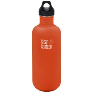 Klean Kanteen Classic 1182ml Bottle with Loop Cap Sierra Sunset