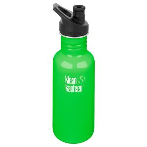 Klean Kanteen Classic 532ml Bottle with Sport Cap 3.0 Spring Green