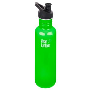 Klean Kanteen Classic 800ml Bottle with Sport Cap 3.0 Spring Green