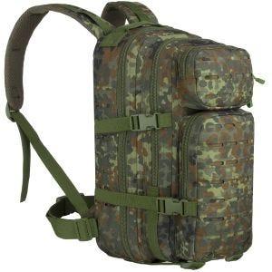 MFH Assault I Backpack Laser Flecktarn