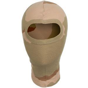 MFH 1 Hole Balaclava Lightweight Cotton 3-Colour Desert