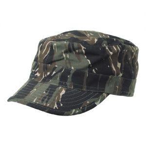 MFH BDU Ripstop Field Cap Tiger Stripe