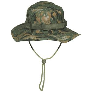 GI Ripstop Bush Hat Digital Woodland