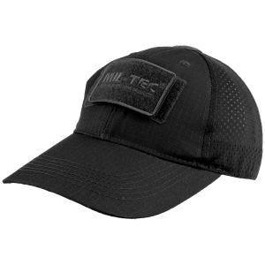 Mil-Tec Net Baseball Cap Black