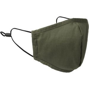 Mil-Tec Mouth/Nose Cover Wide Shape Ripstop Olive