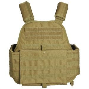 Mil-Tec Plate Carrier Vest Coyote