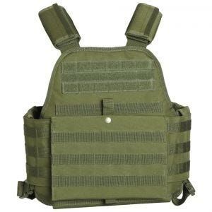 Mil-Tec Plate Carrier Vest Olive