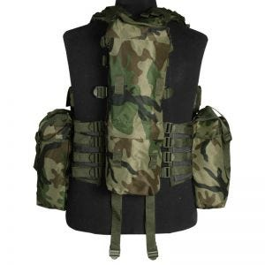 Mil-Tec South African Assault Vest Woodland