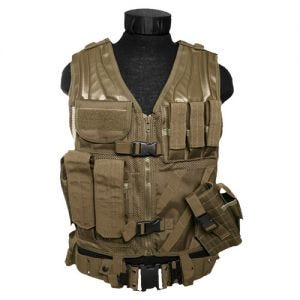 Mil-Tec USMC Tactical Vest Coyote