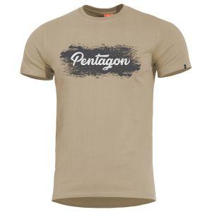 Pentagon Ageron Grunge T-Shirt Khaki