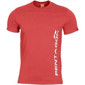 Pentagon Ageron T-Shirt Pentagon Vertical Lava Red