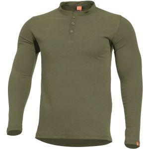 Pentagon Romeo Henley Shirt Olive